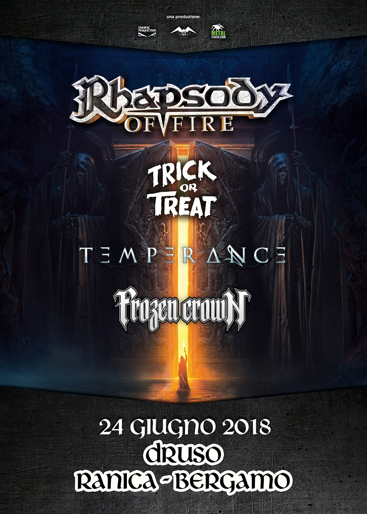 Rhapsody of fire druso promo web 2018