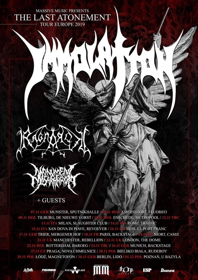 Immolation tour