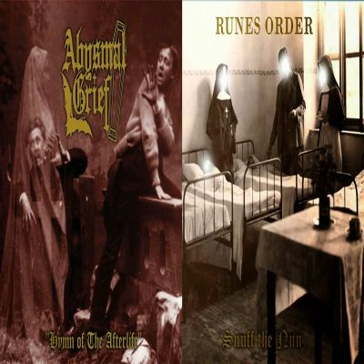 Abysmal grief split cover lp ag ro  300dpi