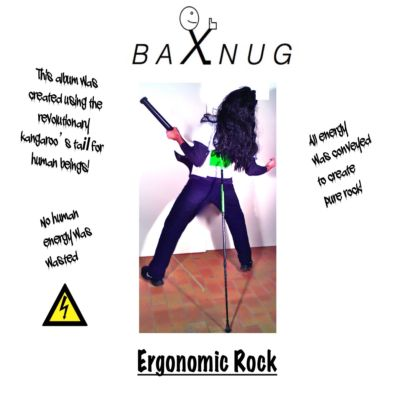 Ergonomic rock cover front