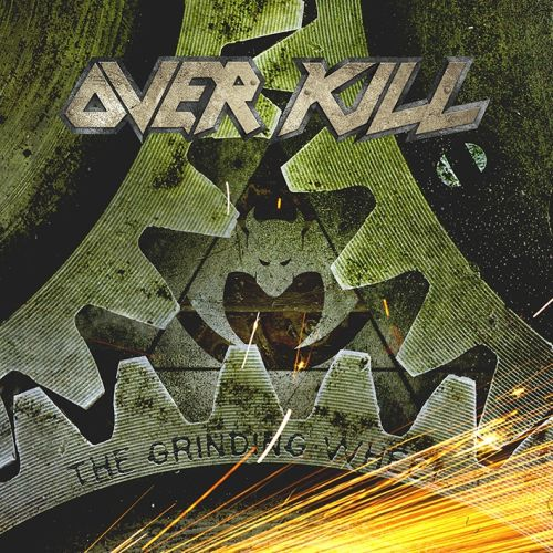 Overkill   the grinding wheel   artwork