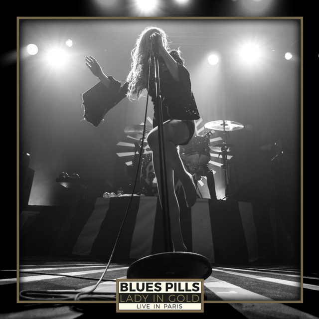 Blues pills lady in gold live in paris 2017