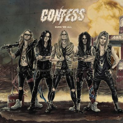 Confess   burn  em all   album cover