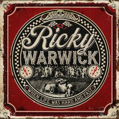 Ricky warwick   when life was hard   fast   artwork