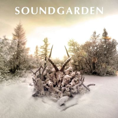 allcdcovers  soundgarden king animal 2012 retail cd front