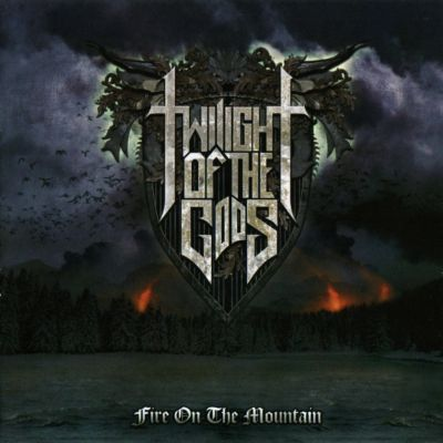 allcdcovers  twilight of the gods fire on the mountain 2013 retail cd front