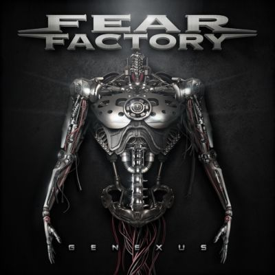 Fear factory   genexus   artwork