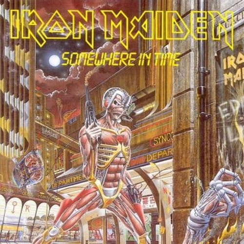 Iron maiden   somewhere in time   front