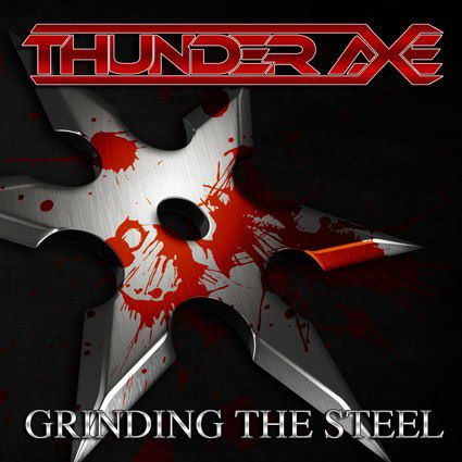 Thunder axe grinding the steel